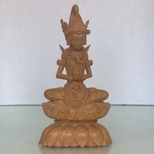 Tantra Gallery Mas Bali hand carved wood statue